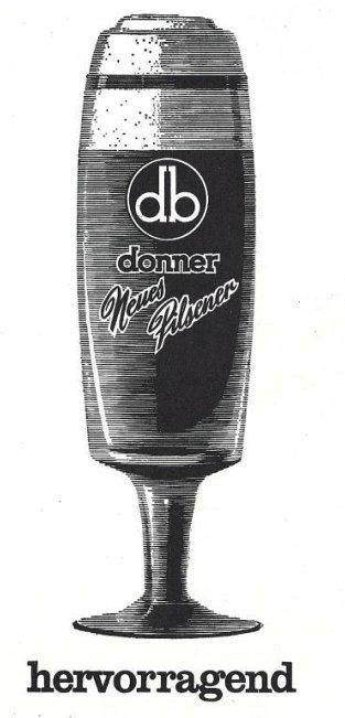 Brauerei Werbung 3 Donnerbr U Ag Saarlouis Donnerbr U Ag